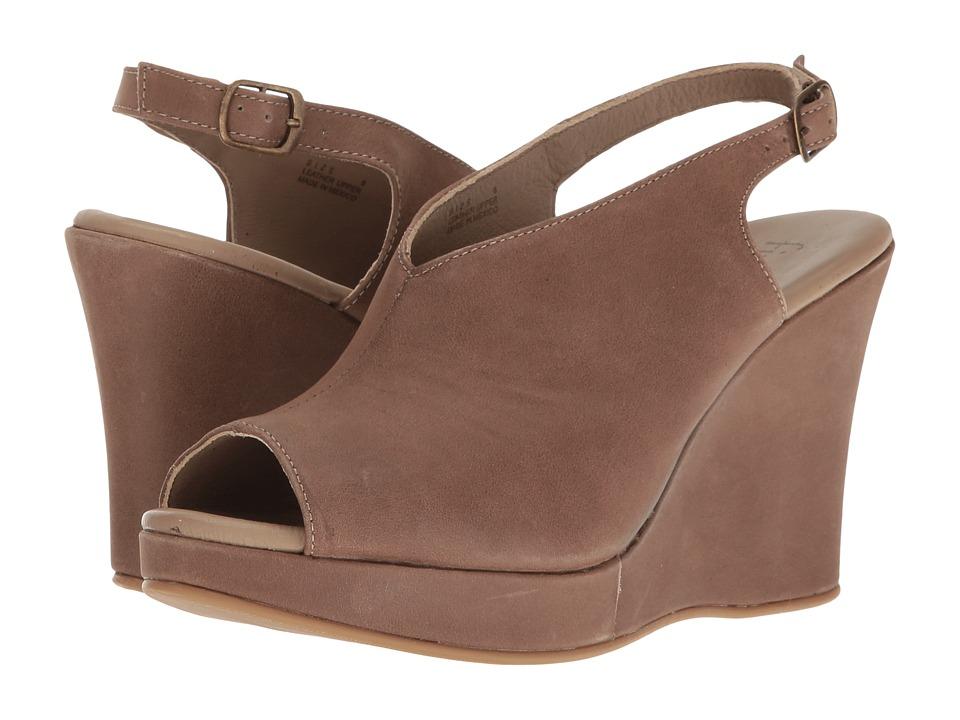 Cordani - Amiga (Taupe Calfskin) Women's Wedge Shoes