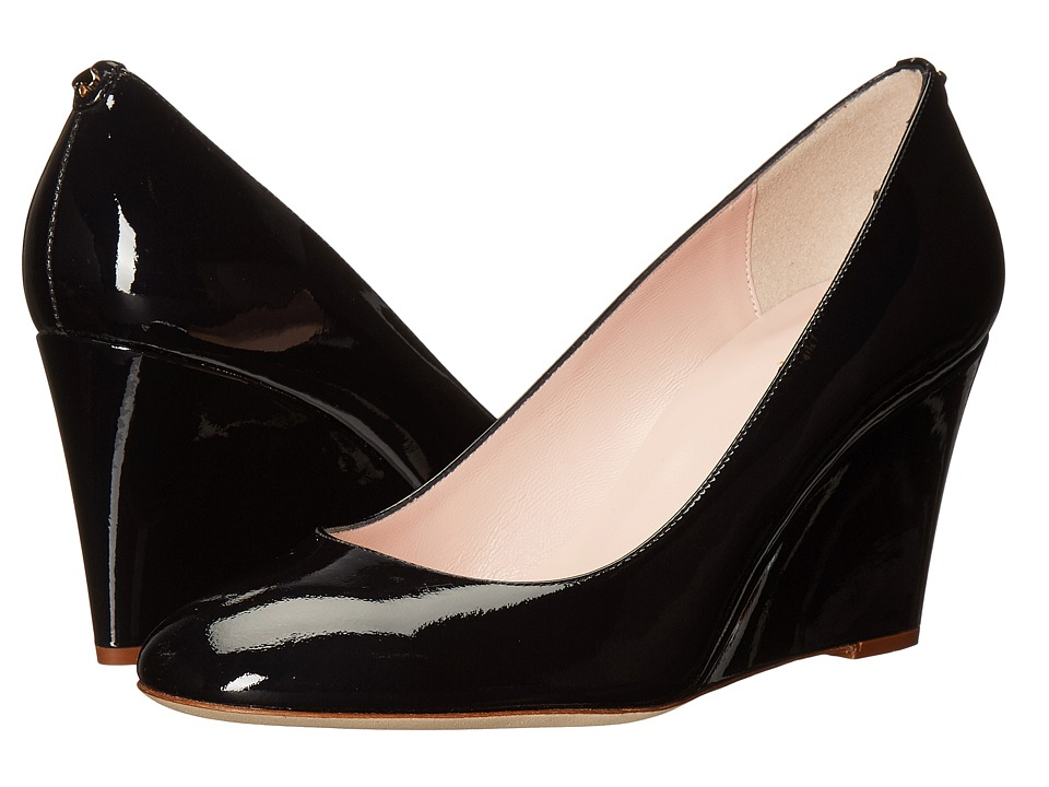 Kate Spade New York - Amory (Navy Patent) Women's Shoes