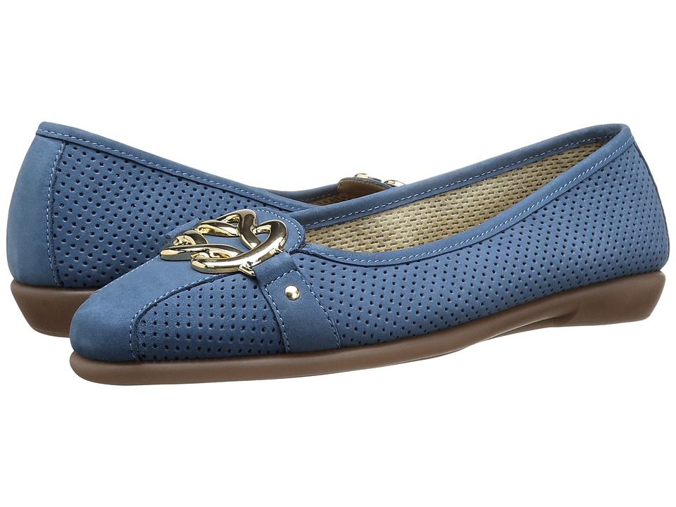 A2 by Aerosoles High Bet (Blue Nubuck) Women