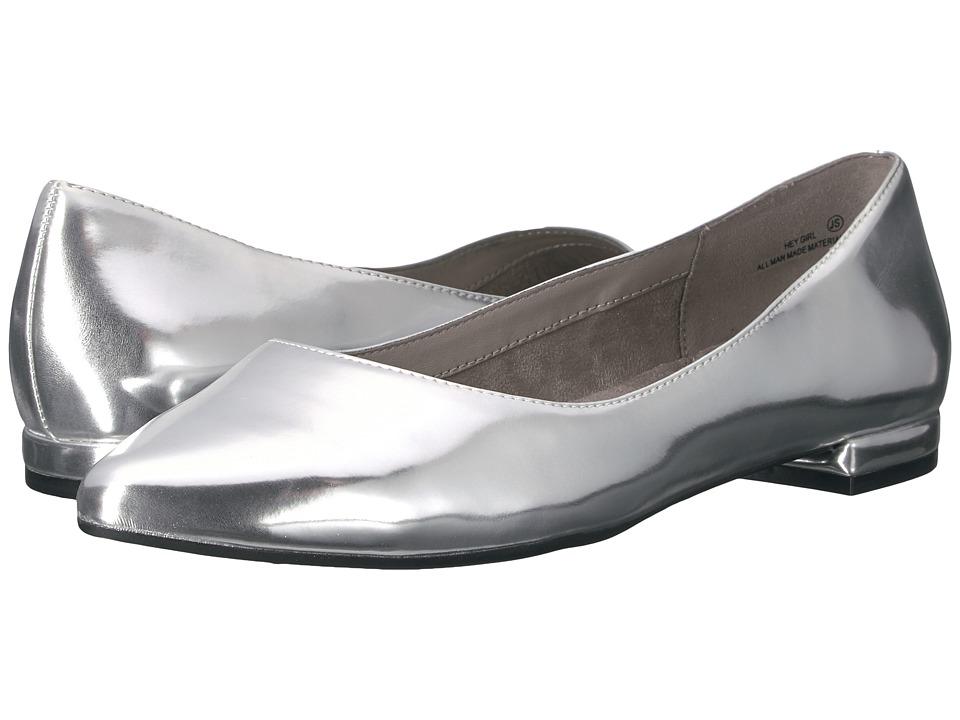 Aerosoles - Hey Girl (Silver Metallic) Women's Flat Shoes