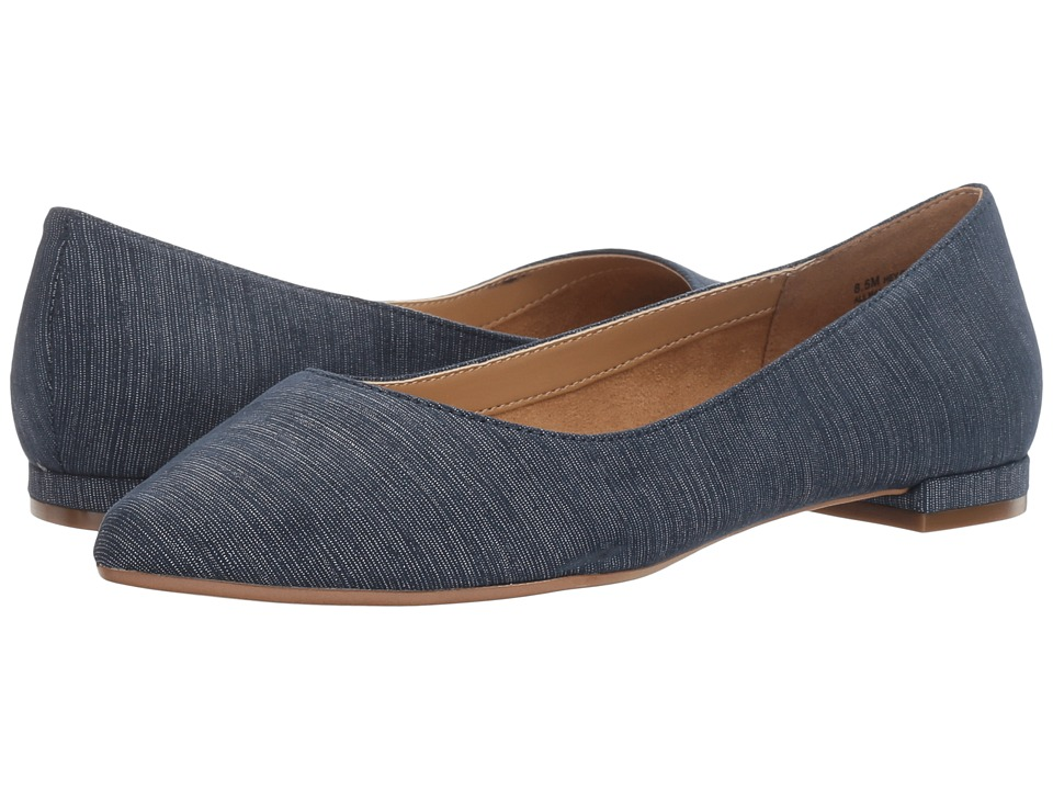 A2 by Aerosoles - Hey Girl (Blue Fabric) Women's Flat Shoes