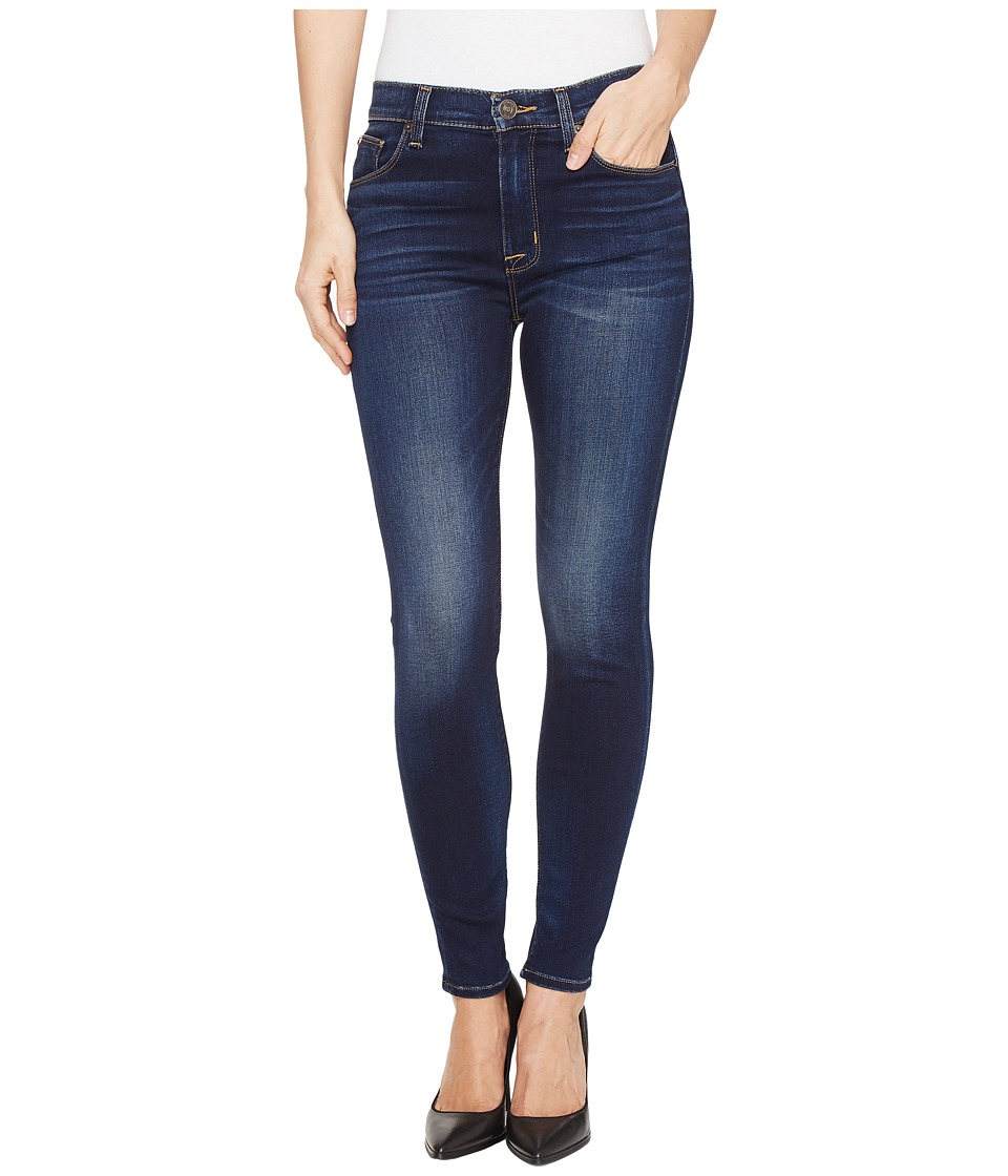 Hudson - Barbara High Waist Super Skinny Ankle Five-Pocket Jeans in Recruit 2 (Recruit 2) Women's Jeans