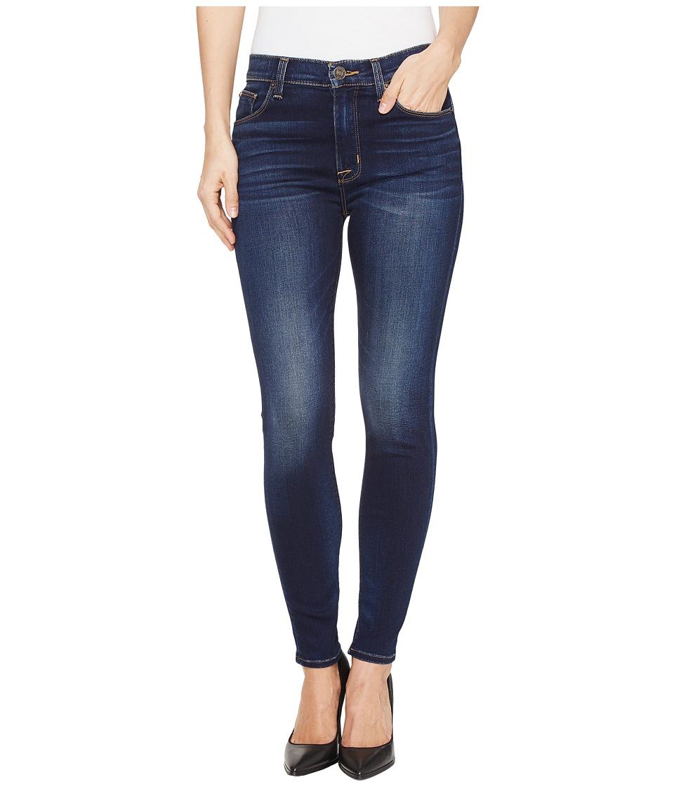Hudson Barbara High Waist Super Skinny Ankle Five-Pocket Jeans in Recruit 2 (Recruit 2) Women