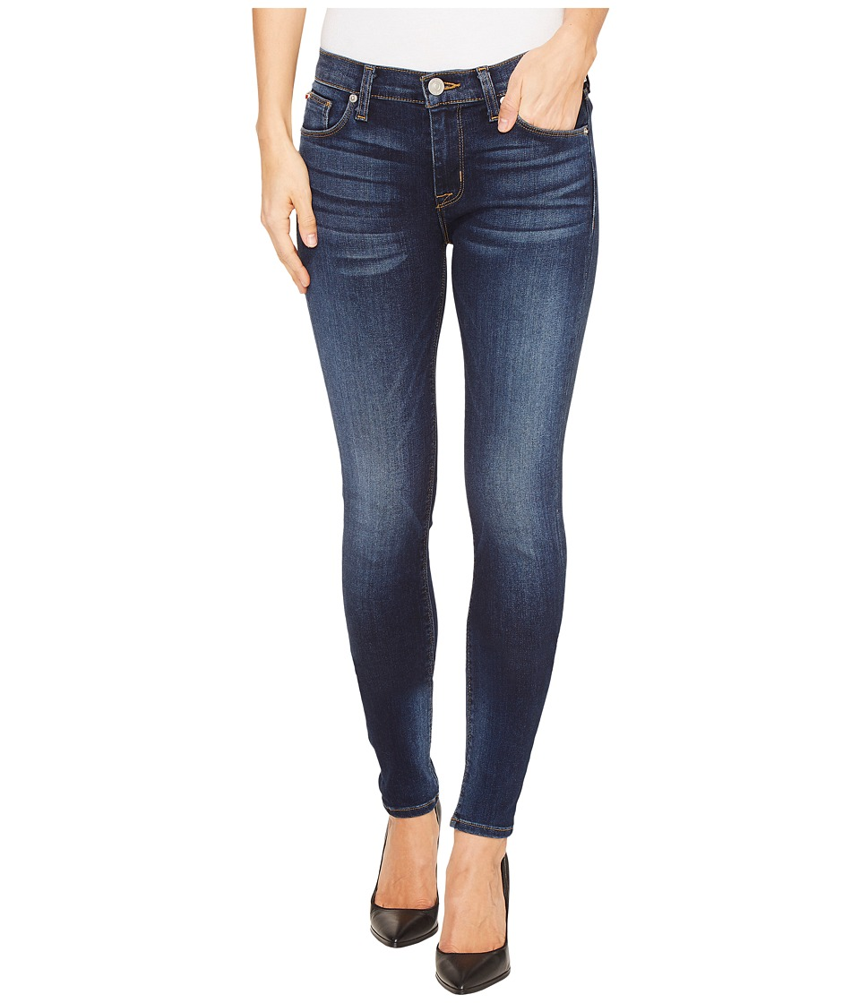 Hudson - Nico Mid-Rise Super Skinny Five-Pocket Jeans in Blue Gold (Blue Gold) Women's Jeans