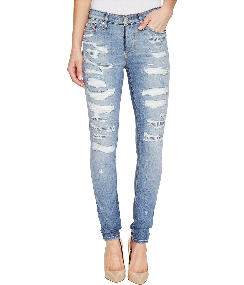 Hudson - Nico Mid-Rise Super Skinny Five-Pocket Jeans in Southpaw (Southpaw) Women's Jeans