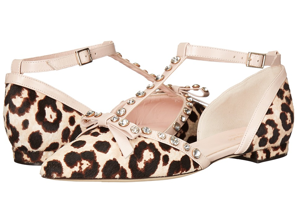 Kate Spade New York - Becca (Blush/Brown Leopard Haircalf/Pale Pink Nappa) Women's Shoes