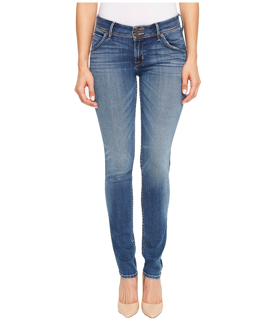 Hudson Collin Mid-Rise Skinny Flap Pocket in Contender (Contender) Women