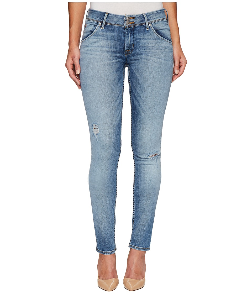 Hudson Collin Mid-Rise Skinny Flap Pocket Jeans in Ambitions 2 (Ambitions 2) Women