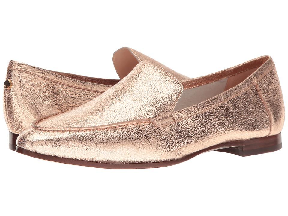 Kate Spade New York Carima (Rose Gold Crackle Metallic Nappa) Women's Slip  on Shoes
