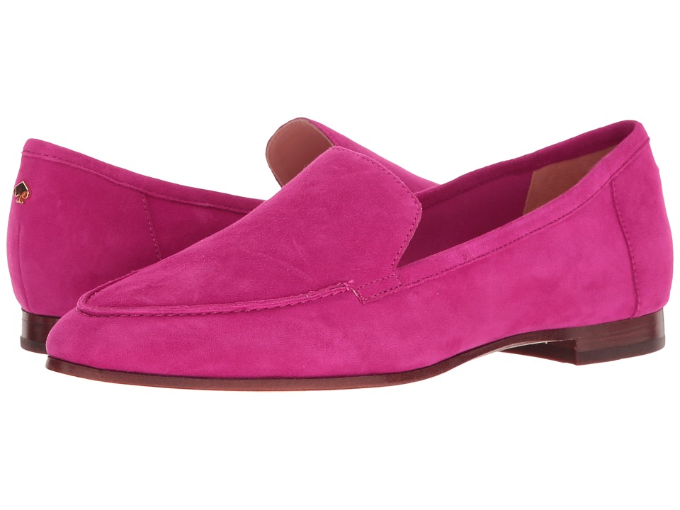 Kate Spade New York - Carima (Lipstick Pink Kid Suede) Women's Slip on Shoes