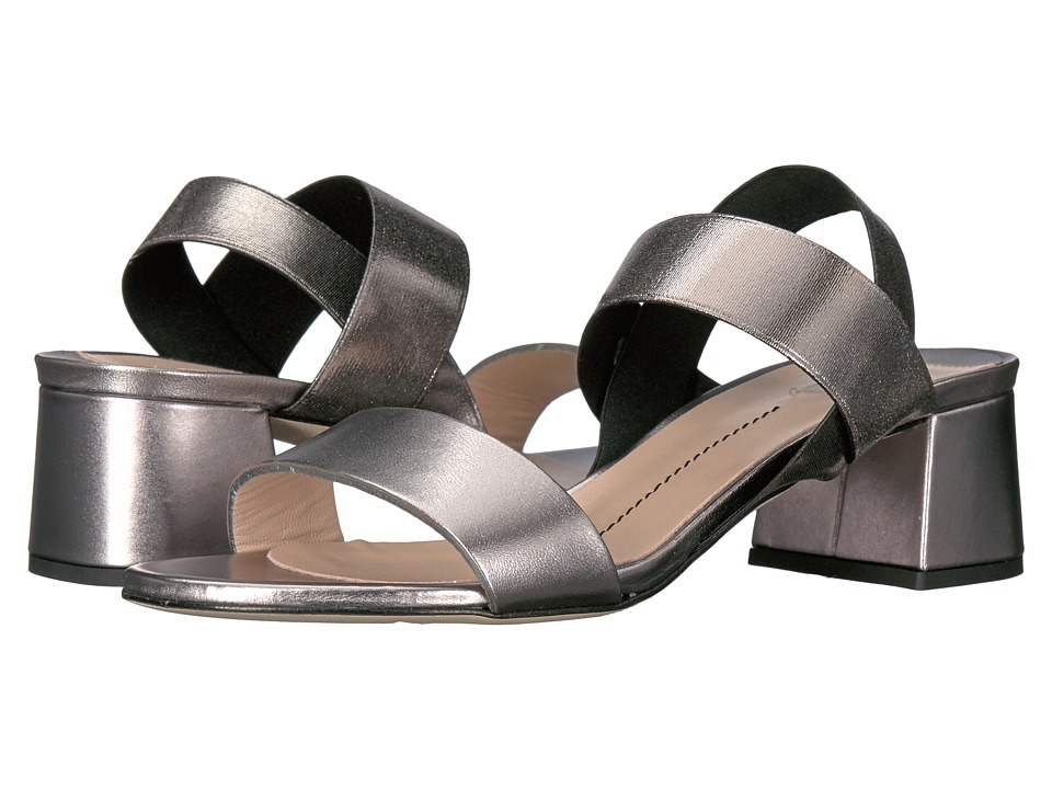 Furla - Magia Sandals T.50 (Acciaio Vitello Metal) High Heels
