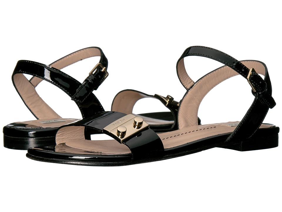 Furla - Metropolis Sandals T.5 (Onyx Vernice) Women's Sandals