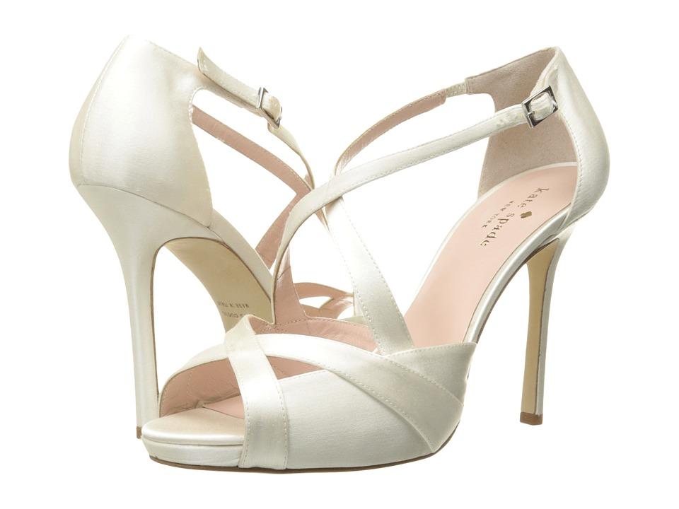 Kate Spade New York - Fensano (Ivory Satin) Women's Shoes