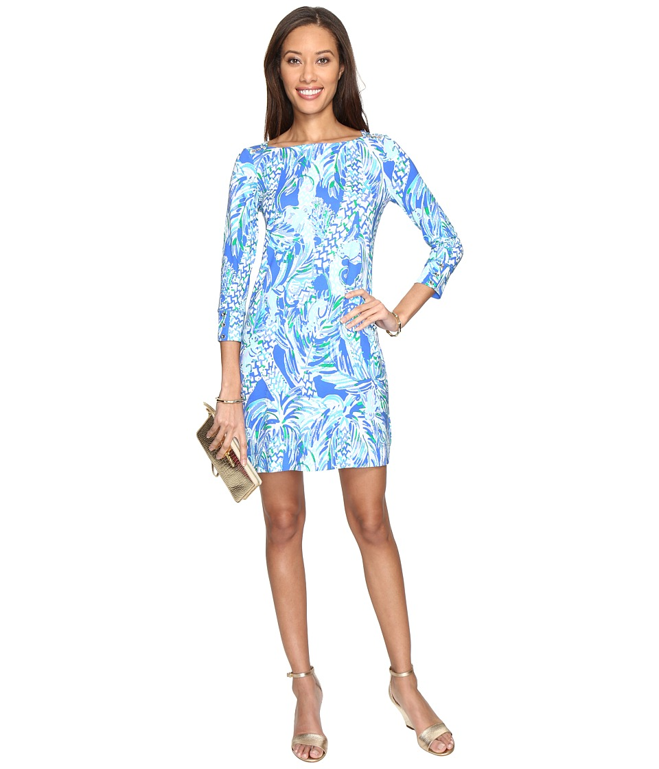 Lilly Pulitzer - UPF 50+ Sophie Dress (Resort White Canopy Chaos) Women's Dress