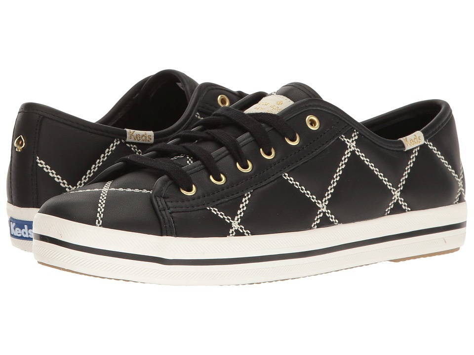 Kate Spade New York - Keke (Black Quilted Leather) Women's Shoes