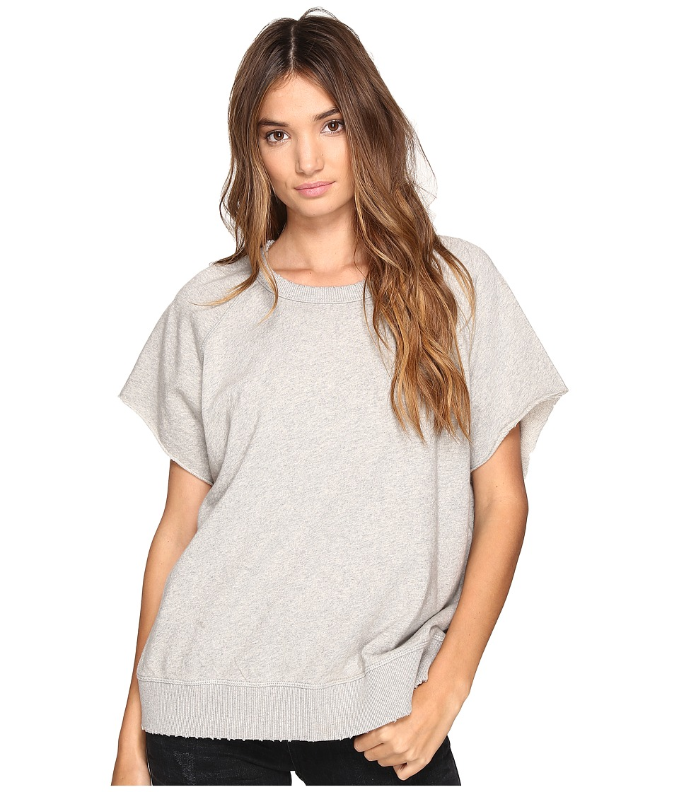 Free People - That Tee Pullover (Grey) Women's Clothing