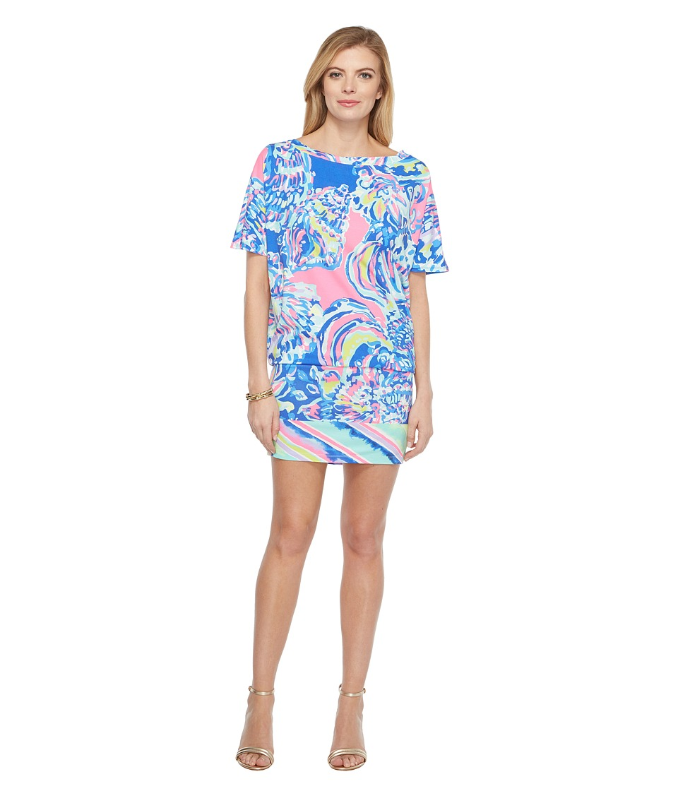 Lilly Pulitzer - Lowe Dress (Multi Coastal Retreat Engineered) Women's Dress