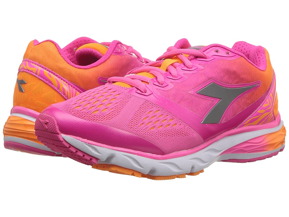 Diadora - Mythos Blushield (Fluo Pink/Fluo Orange) Women's Shoes