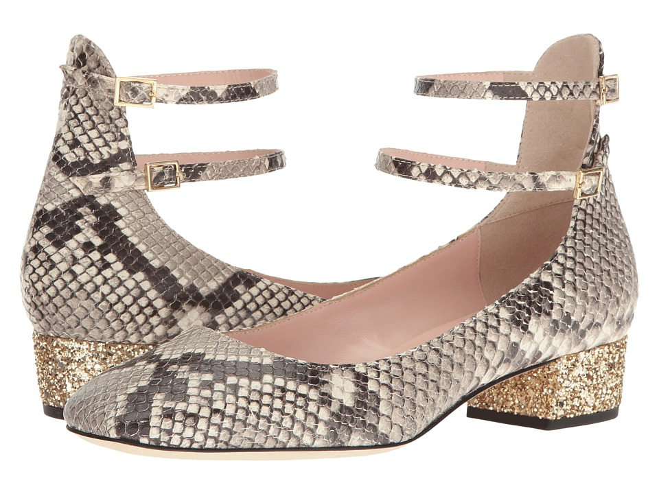 Kate Spade New York - Marcelina (Roccia Multi Leather/Gold Glitter Heel) Women's Shoes