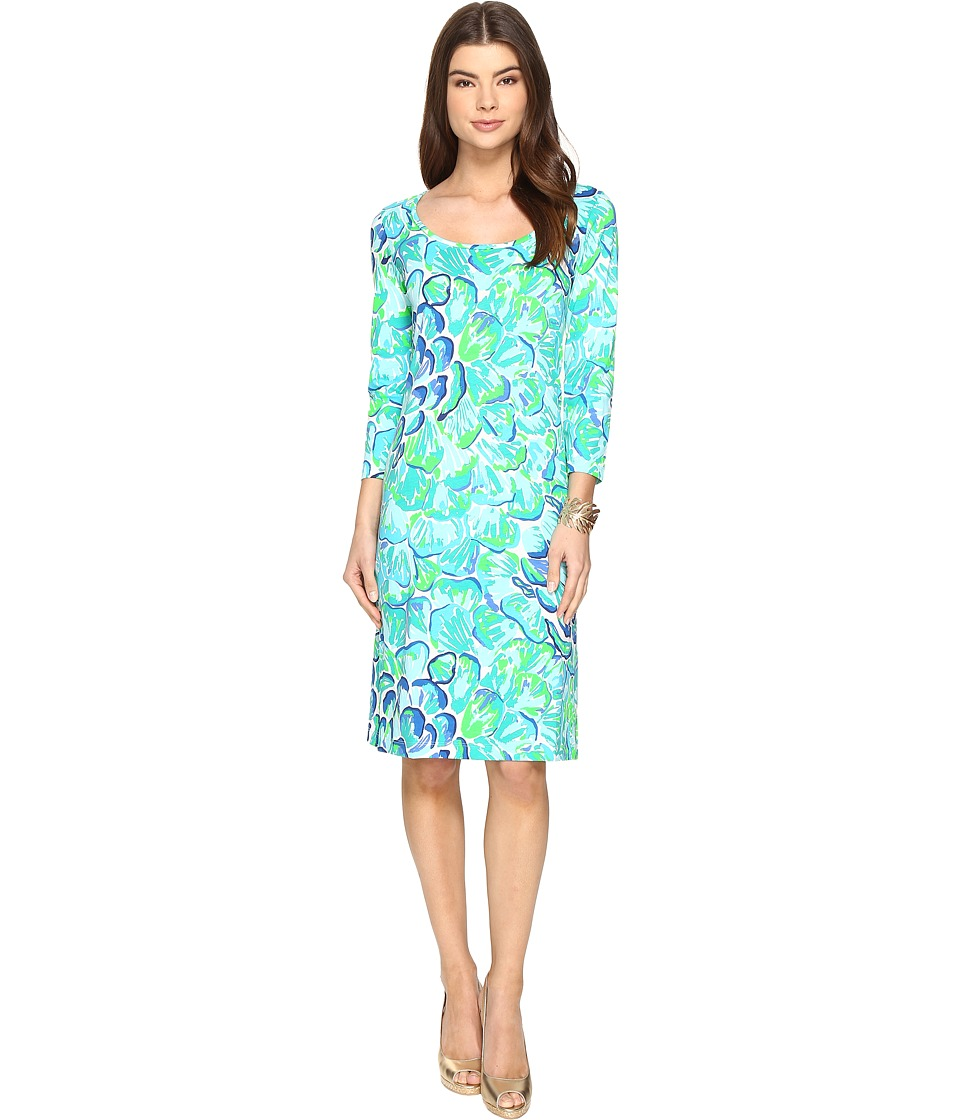 Lilly Pulitzer - Kenzie Dress (Agate Green Lazy River) Women's Dress
