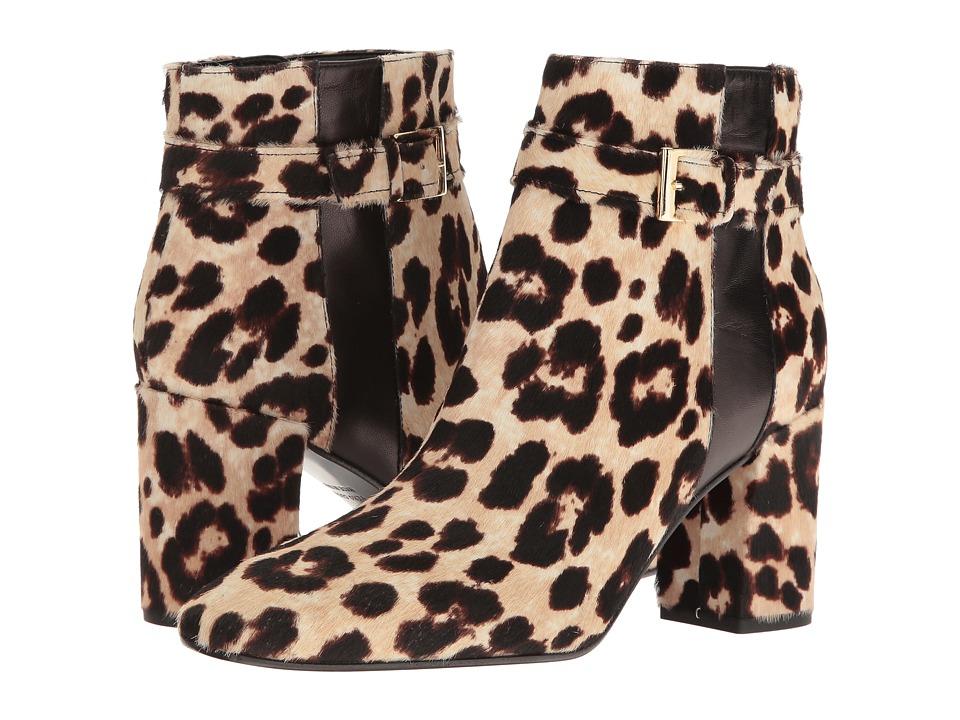 Kate Spade New York - Ovella (Blush/Brown Leopard Haircalf/Black Nappa) Women's Shoes
