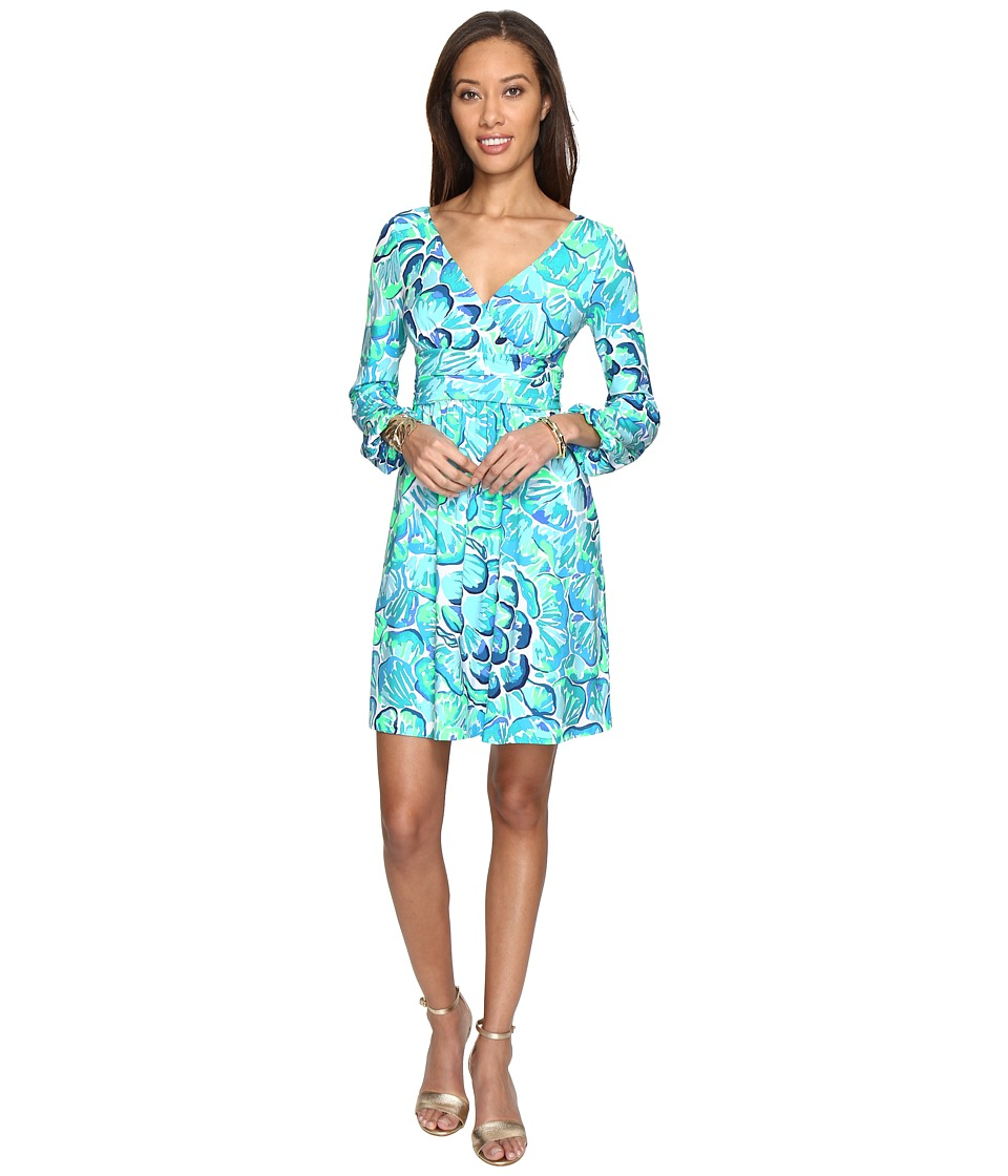 Lilly Pulitzer - Fleur Dress (Agate Green Lazy River) Women's Dress
