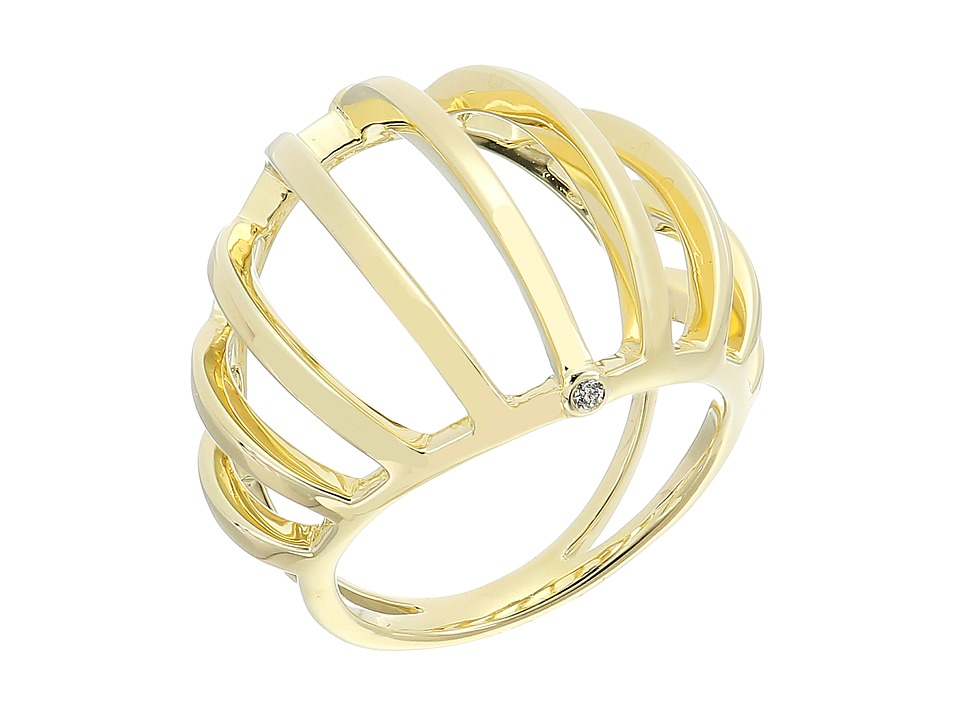 Elizabeth and James - Solin Ring (Yellow Gold) Ring