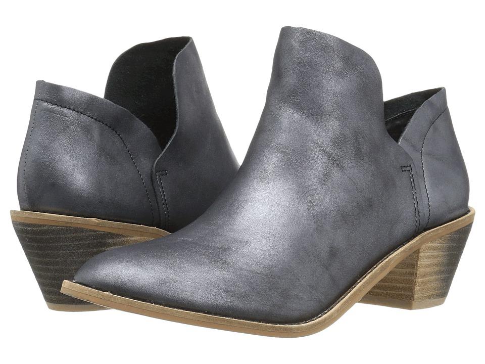 Kelsi Dagger Brooklyn Kenmare Ankle Boot (Black Metallic) Women