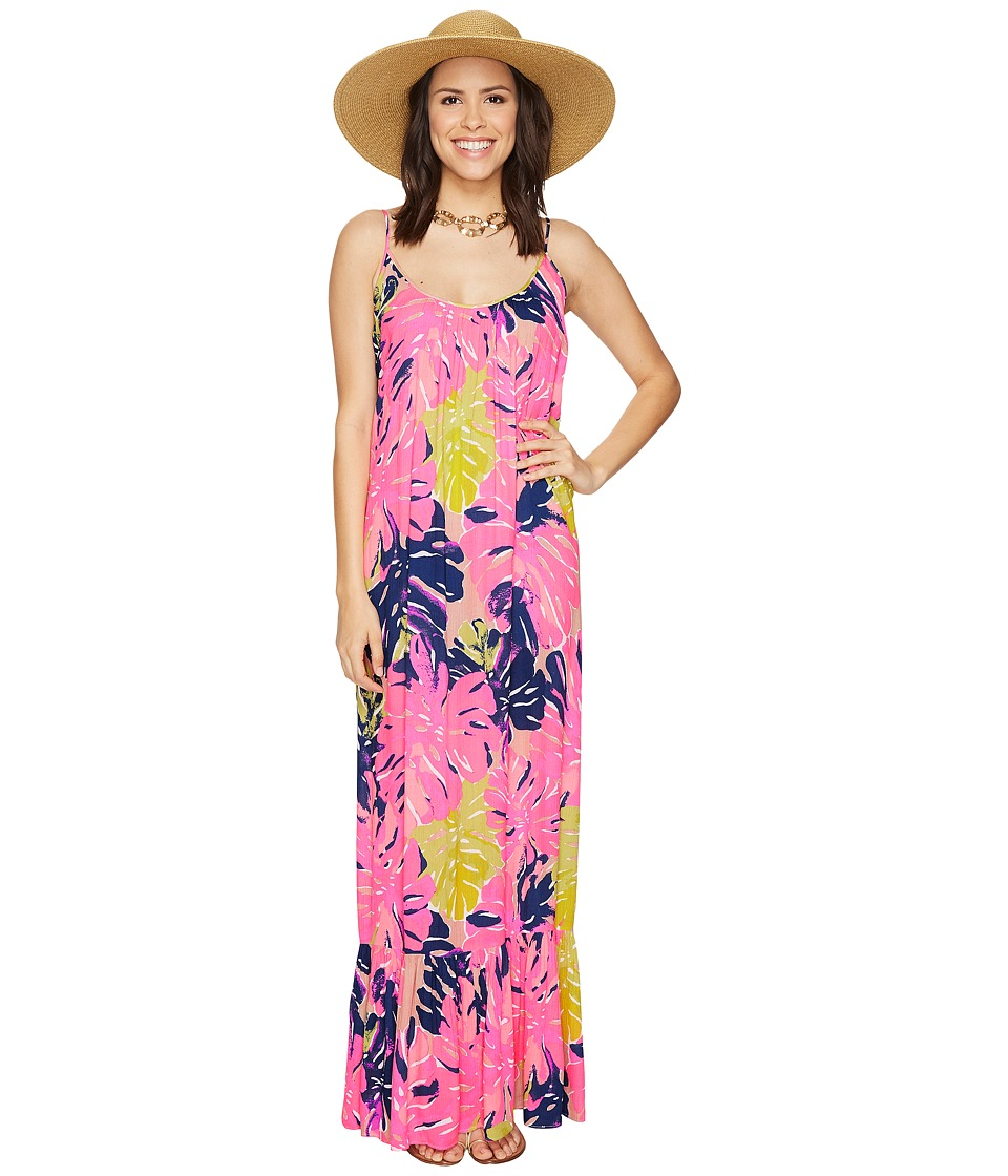 Lilly Pulitzer - Tenley Maxi Beach Dress (Multi Under the Canopy) Women's Dress