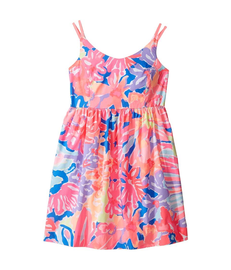 Lilly Pulitzer Kids - Rue Dress (Toddler/Little Kids/Big Kids) (Multi Playa Hermosa) Girl's Dress