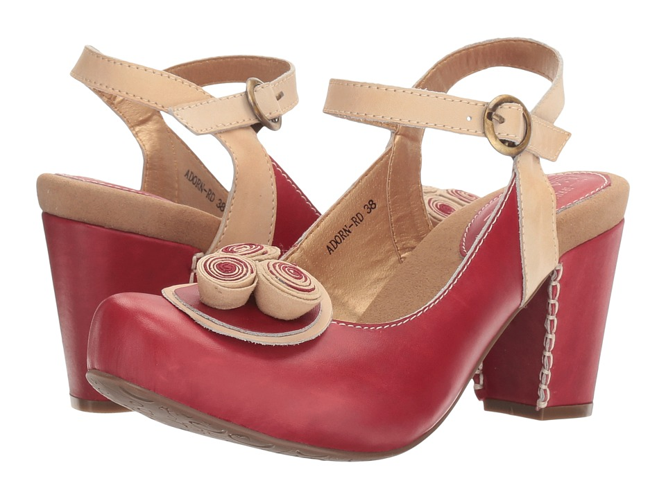 L'Artiste by Spring Step - Adorn (Red) Women's Shoes