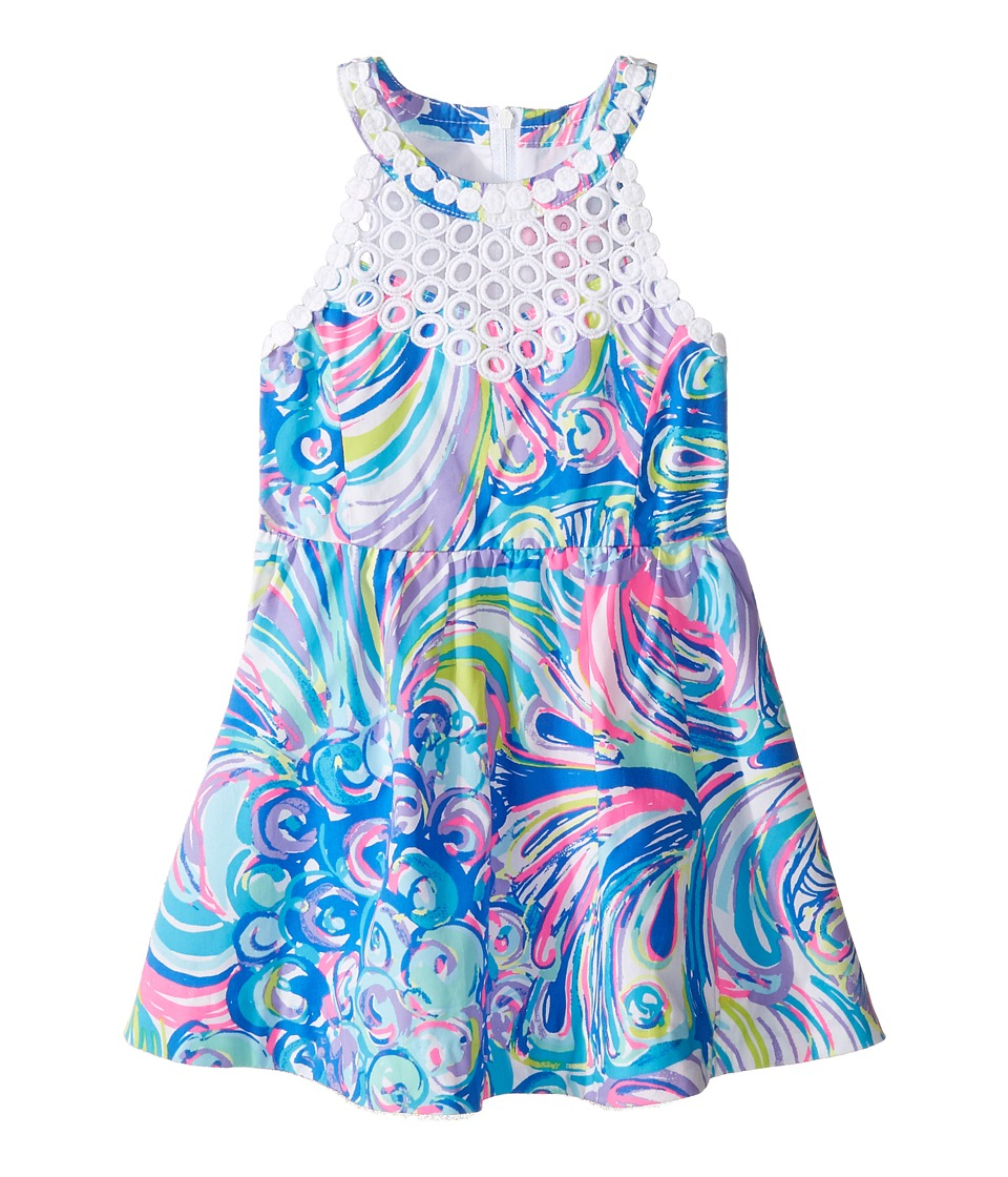 Lilly Pulitzer Kids - Kinley Dress (Toddler/Little Kids/Big Kids) (Multi Gillty Pleasure) Girl's Dress