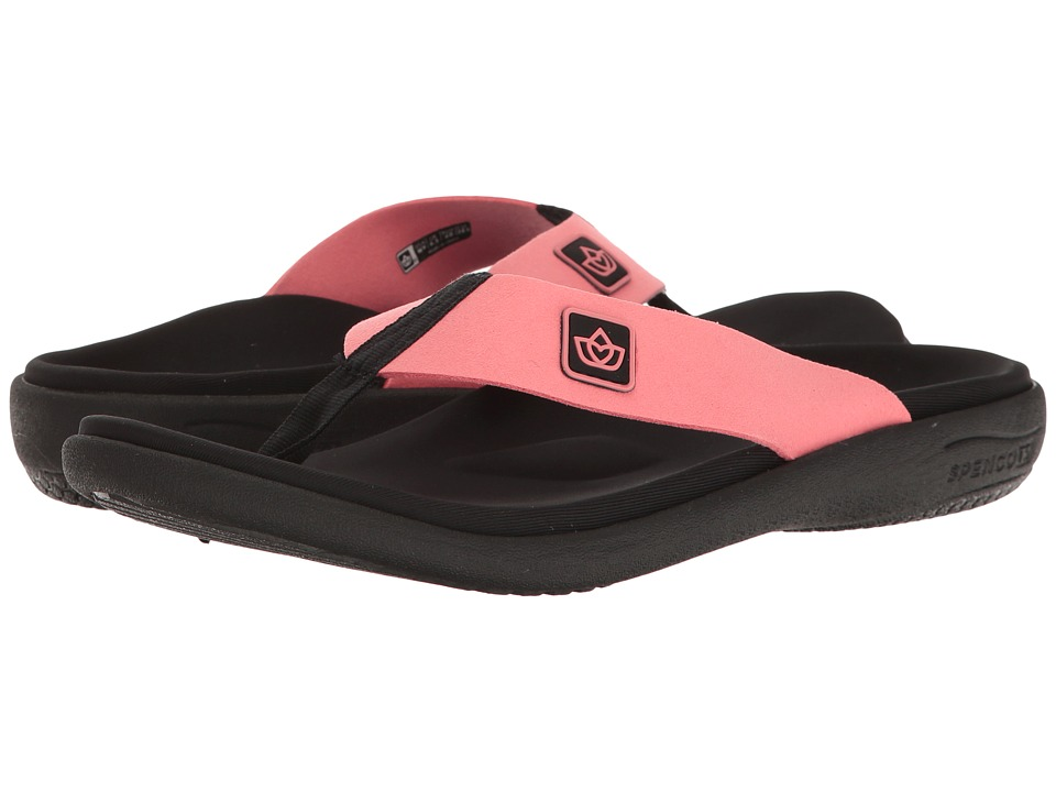 Spenco - Pure Sandal (Salmon) Women's Sandals