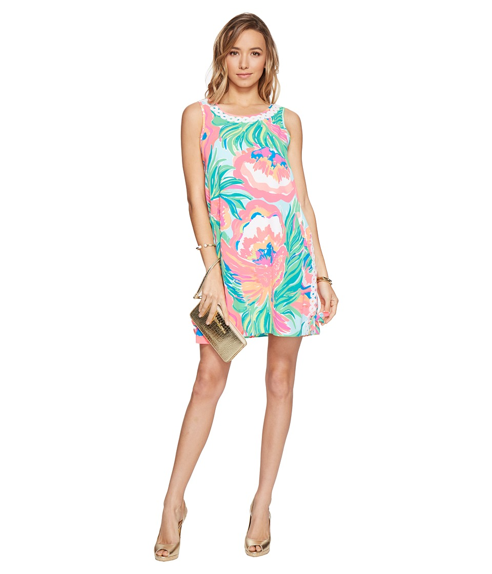 Lilly Pulitzer - Stella Shift (Serene Blue Paradise Bound) Women's Dress