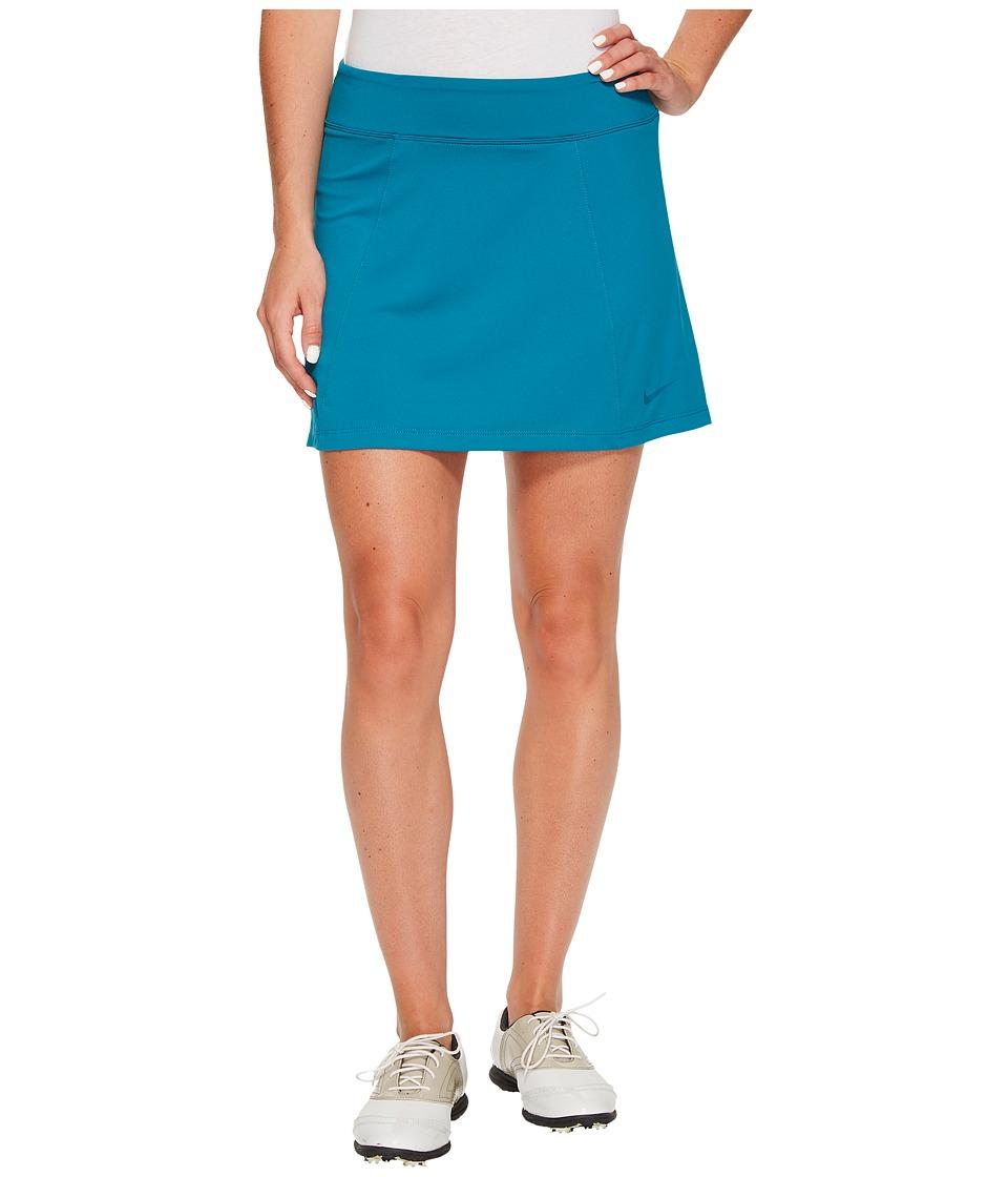 Nike Golf 14.5 Solid Knit Skort (Blustery/Blustery) Women
