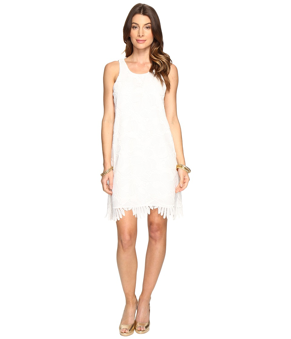 Lilly Pulitzer - Marlissa Shift (Resort White Jumbo Floral Scallop Lace) Women's Dress