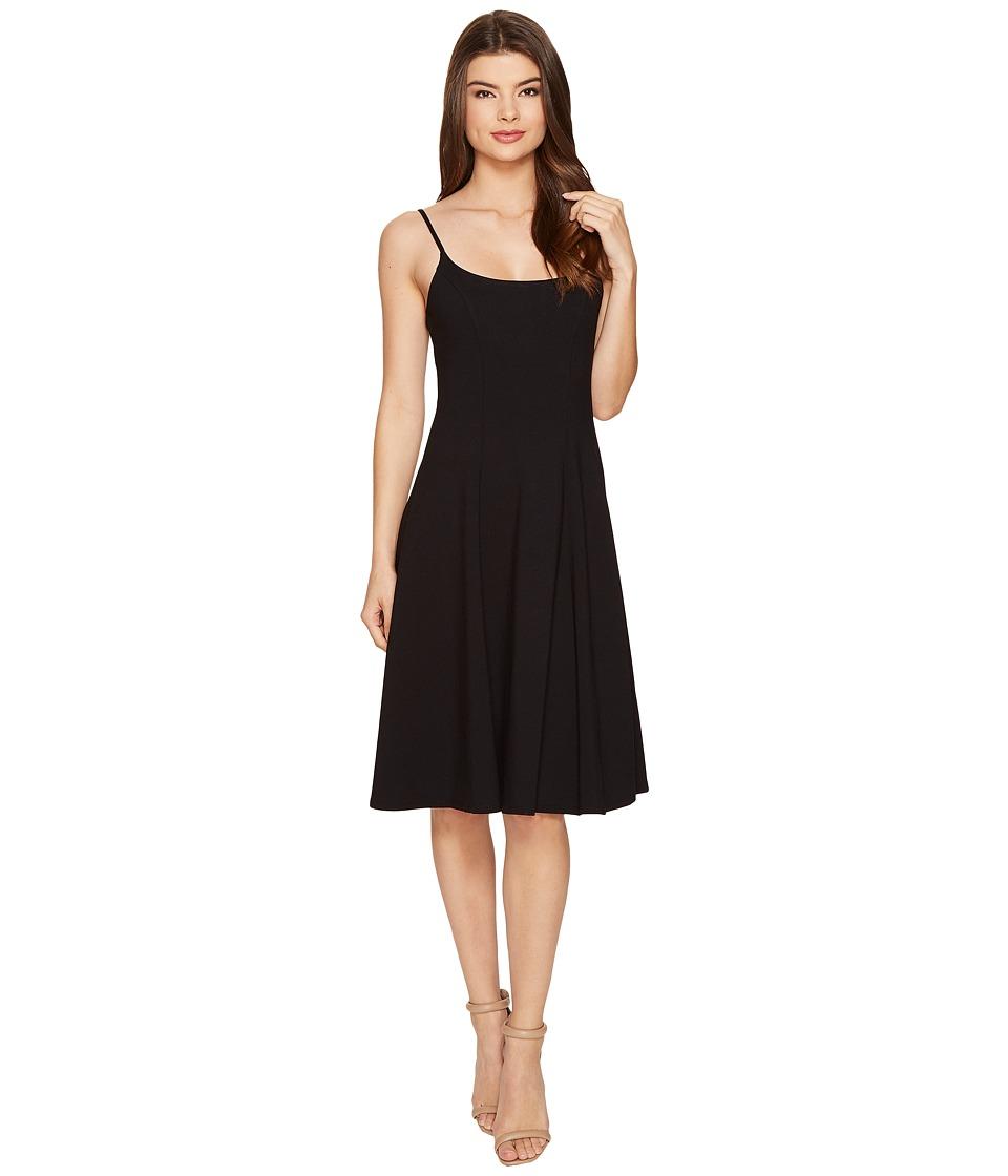 Susana Monaco - Paisley Dress (Black) Women's Dress