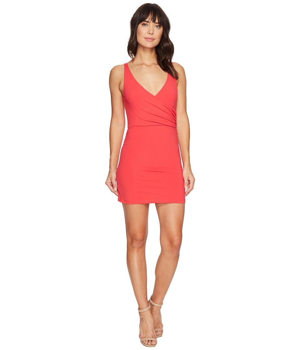 Susana Monaco Wrap Tank Dress (Firecracker) Women