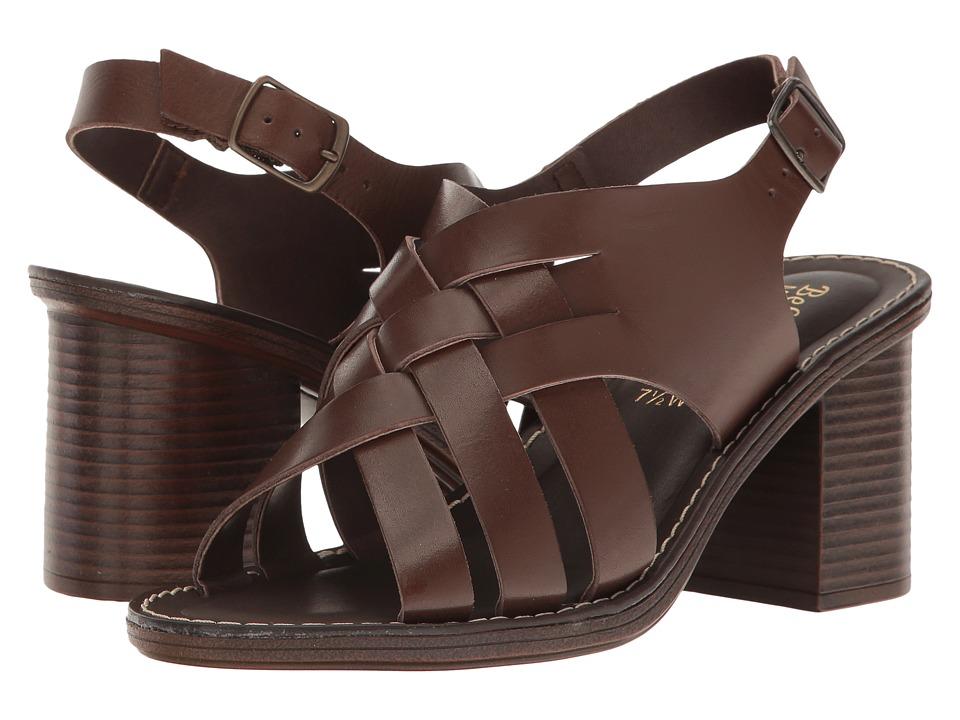 Bella-Vita Max-Italy (Dark Brown Leather) High Heels