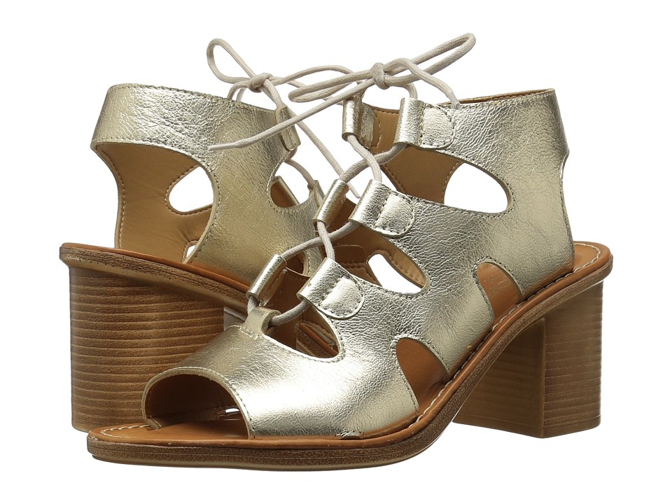 Bella-Vita Bre-Italy (Gold Leather) High Heels