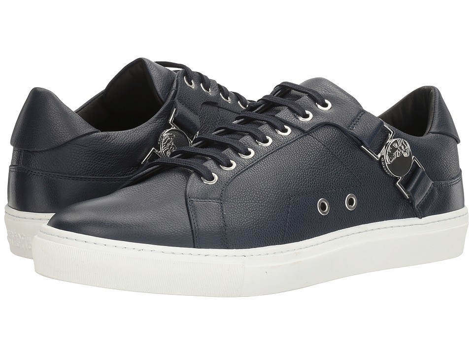 Versace Collection - V900597-VM00246-V346N (Blue/Nikel) Men's Lace up casual Shoes