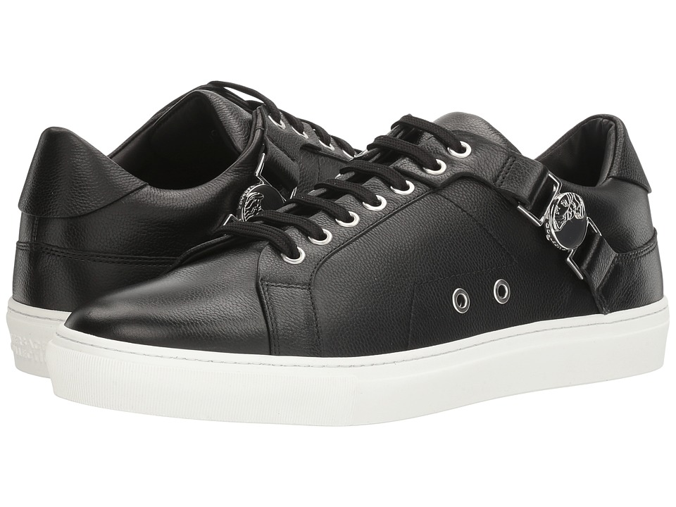 Versace Collection - V900597-VM00246-V000N (Nero/Nikel) Men's Lace up casual Shoes
