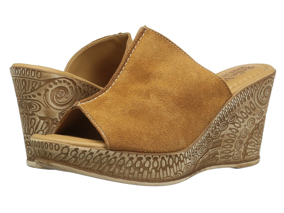 Bella-Vita Dax-Italy (Tobacco Suede Leather) Women