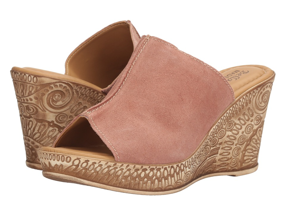 Bella-Vita Dax-Italy (Blush Suede Leather) Women