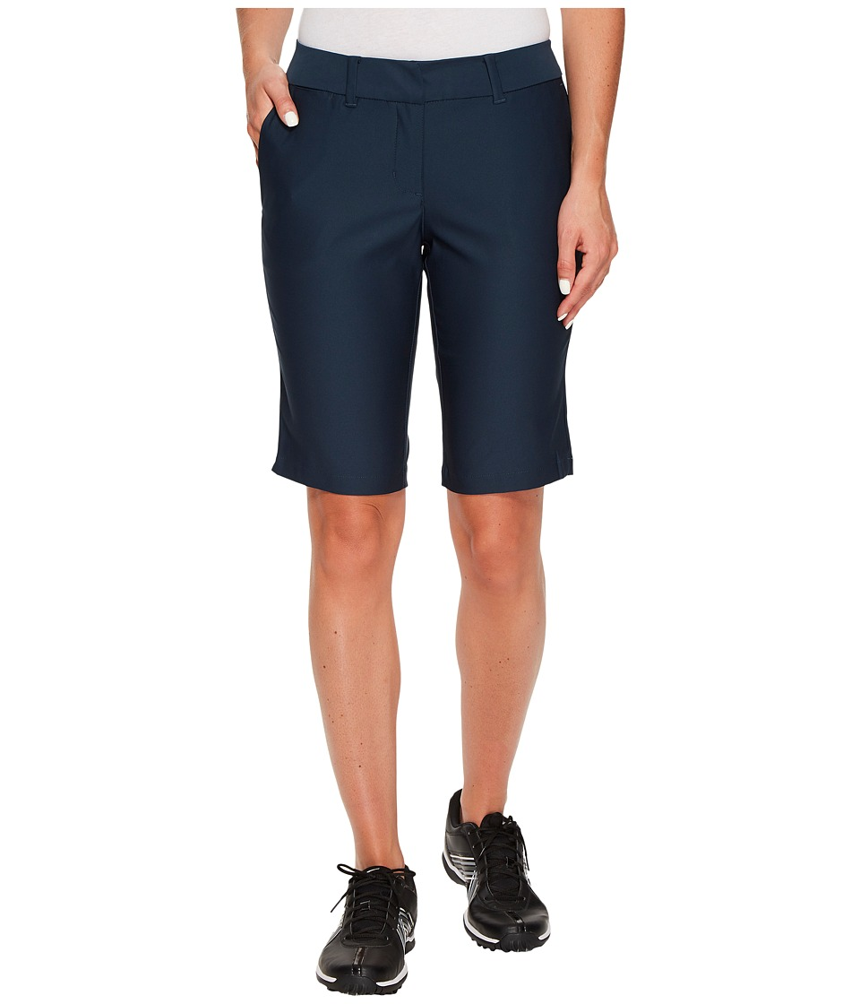 Nike Golf Bermuda Tournament Shorts (Armory Navy/Armory Blue Heather) Women