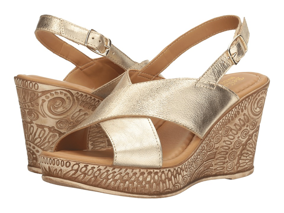 Bella-Vita Lea-Italy (Gold Leather) Women