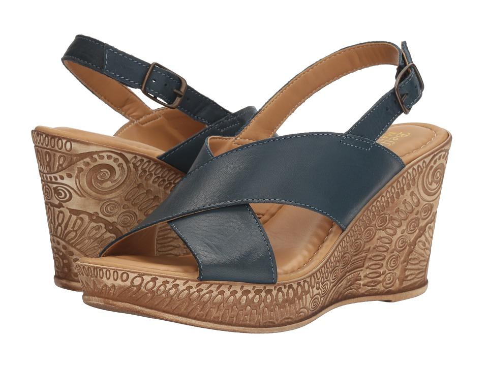 Bella-Vita - Lea-Italy (Navy Leather) Women's Sandals