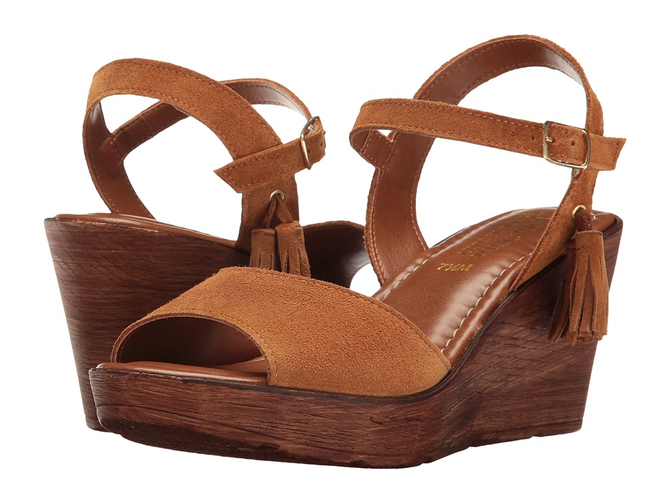 Bella-Vita - Ali-Italy (Tobacco Suede Leather) Women's Sandals