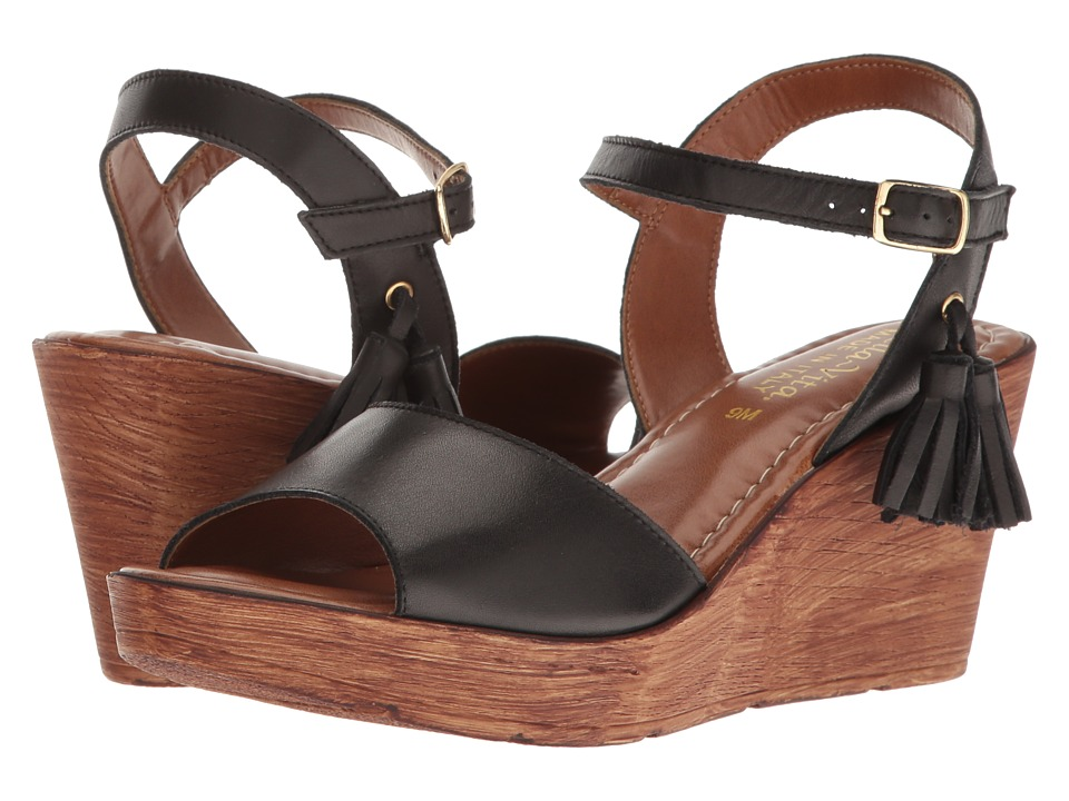 Bella-Vita - Ali-Italy (Black Leather) Women's Sandals