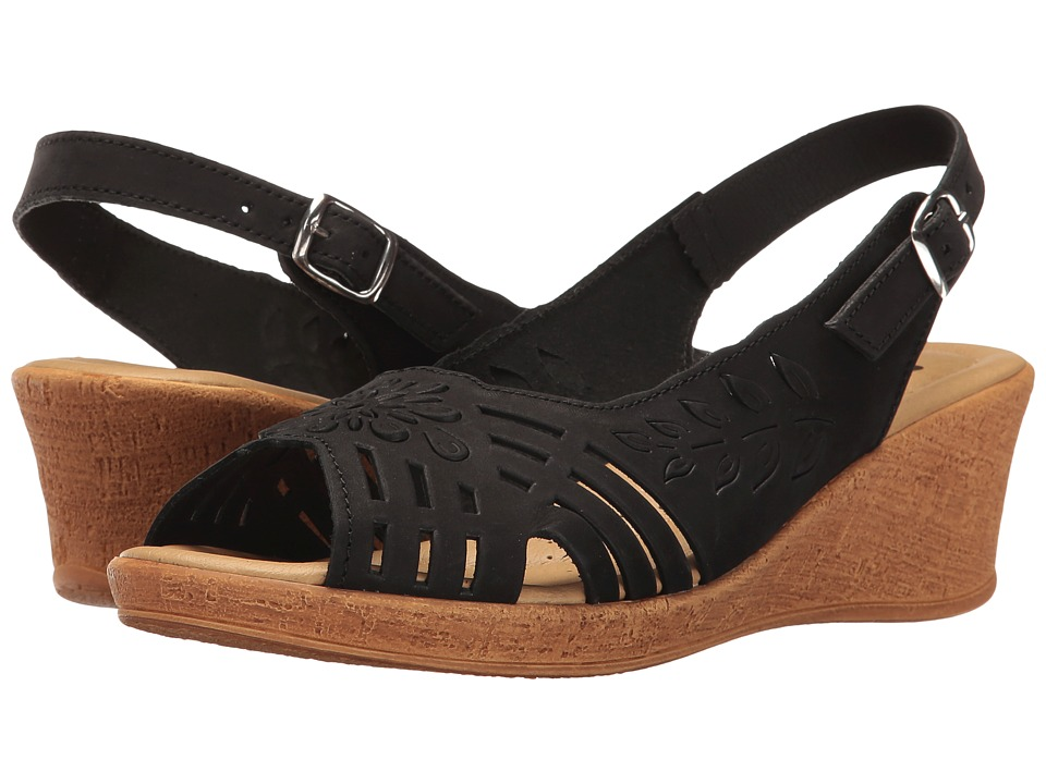 Spring Step - Udoban (Black) Women's Shoes